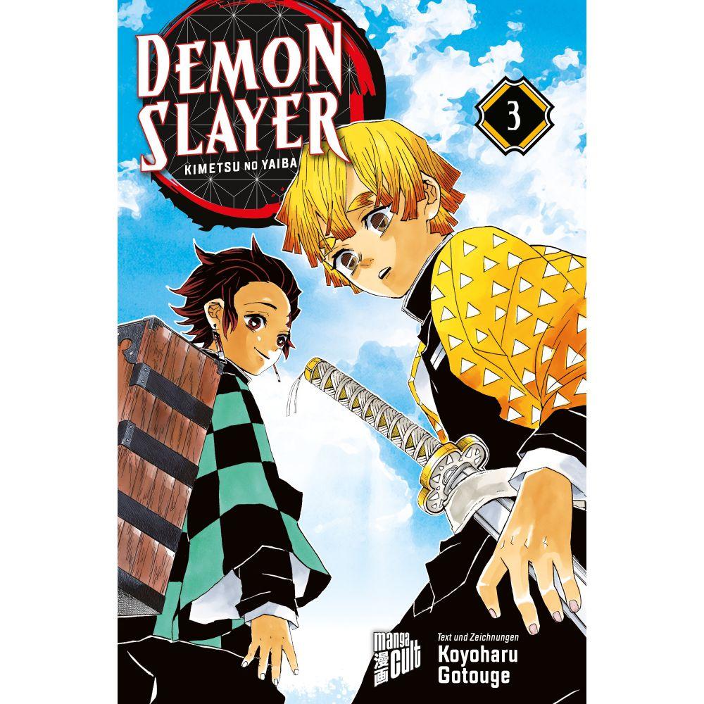 Demon Slayer 3 Kimetsu no Yaiba - Takagi GmbH -Books & More- (高木書店・ドイツ)
